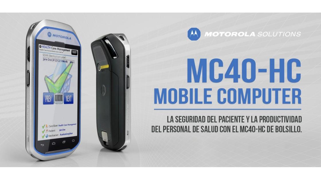 MC40-HC Computadora Móvil Medica de Motorola