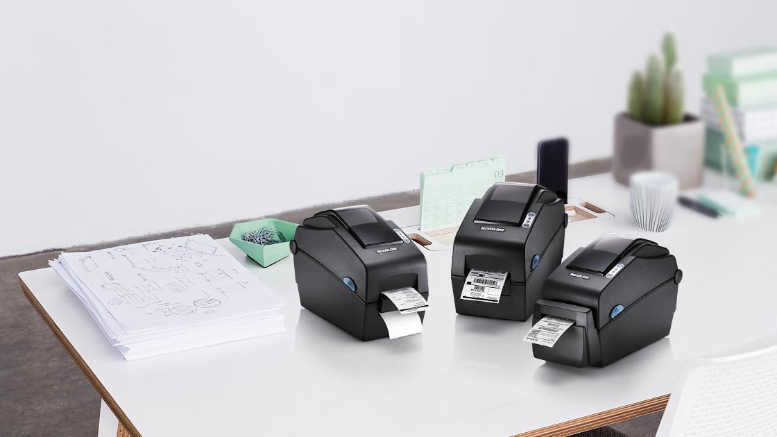 Nuevo BIXOLON SLP-DX220 Impresora de etiquetas
