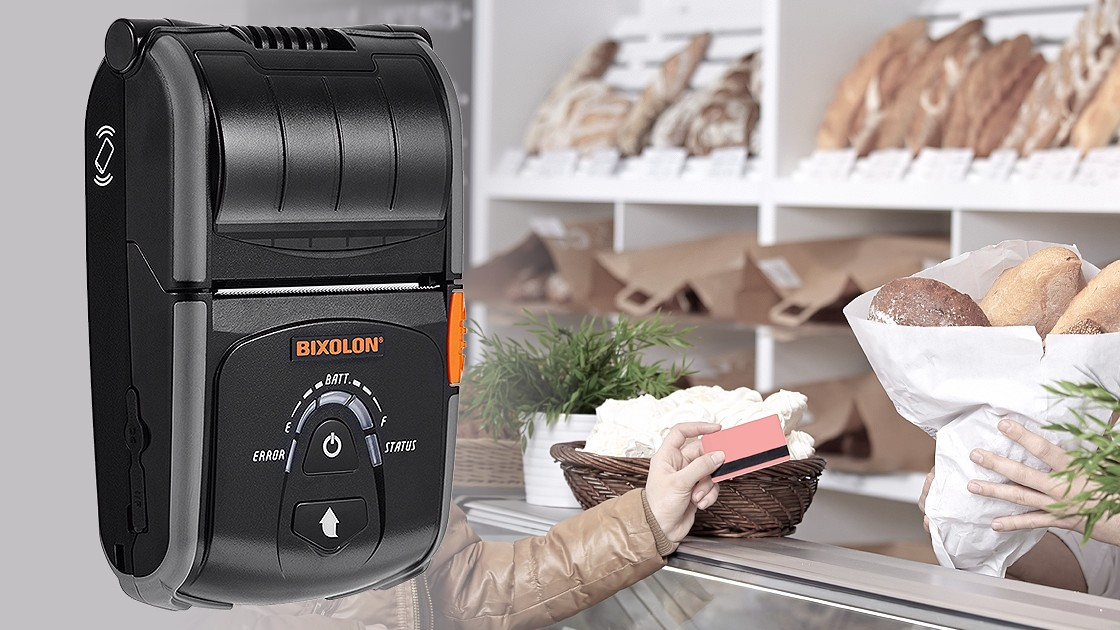 Impresora Móvil Bixolon SPP-R200II