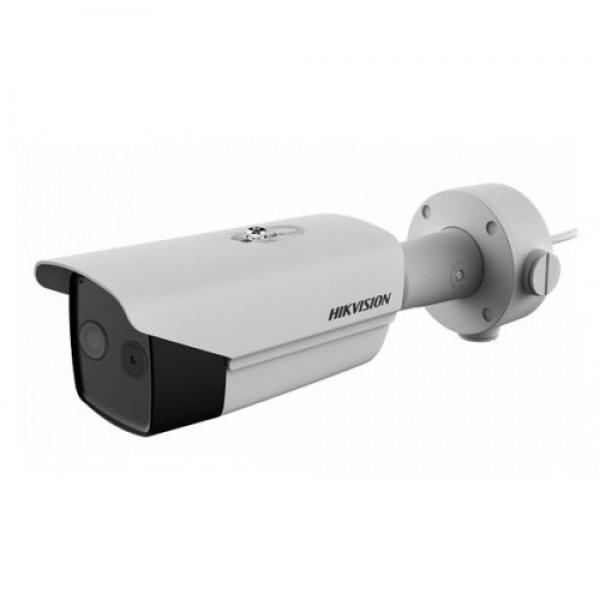 Hikvision DS-2TD2617B-3 / PA (3 mm / 6 mm) Cámara de bala térmica de escaneo de fiebre de temperatura corporal